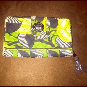 Vera Bradley Large Zip-Around Wallet